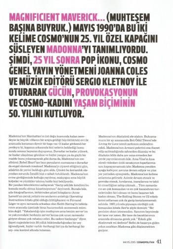 Madonna by Ellen von Unwerth for Cosmopolitan - Turkey Edition (37)