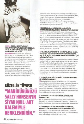 Madonna by Ellen von Unwerth for Cosmopolitan - Turkey Edition (38)