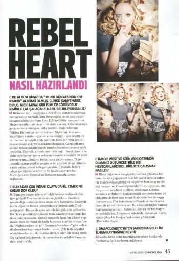Madonna by Ellen von Unwerth for Cosmopolitan - Turkey Edition (41)