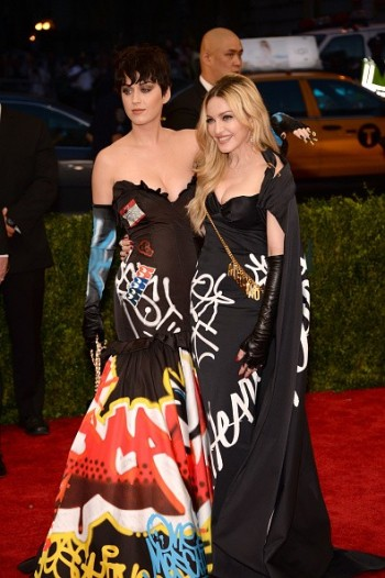 Madonna attends the Met Gala at the Metropolitan Museum of Art in New York - 4 May 2015 (16)