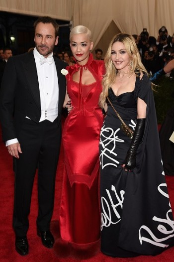 Madonna attends the Met Gala at the Metropolitan Museum of Art in New York - 4 May 2015 (20)