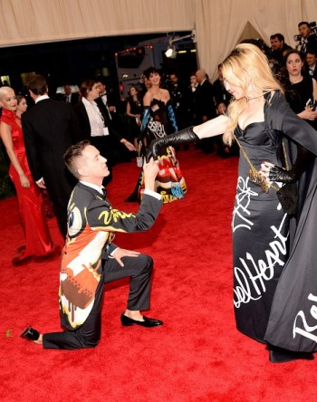 Madonna attends the Met Gala at the Metropolitan Museum of Art in New York - 4 May 2015 (36)