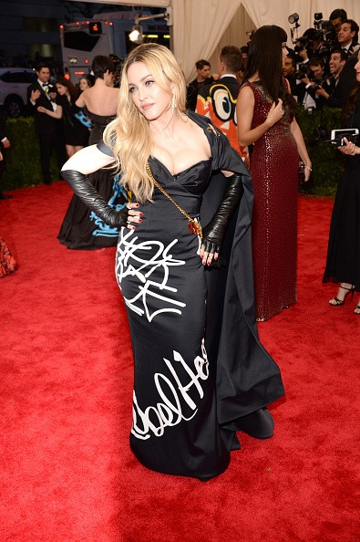 Update After Party Pictures Madonna Attends The Met