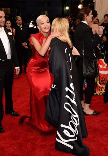 Madonna attends the Met Gala at the Metropolitan Museum of Art in New York - 4 May 2015 (39)