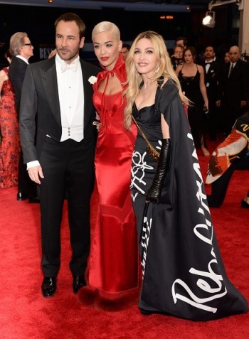 Madonna attends the Met Gala at the Metropolitan Museum of Art in New York - 4 May 2015 (40)