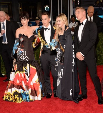 Madonna attends the Met Gala at the Metropolitan Museum of Art in New York - 4 May 2015 (42)