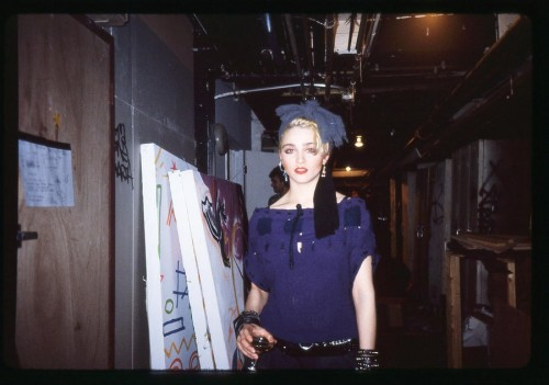 Early Madonna by Elio Fiorucci