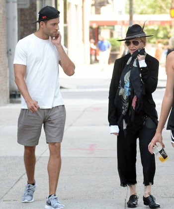 Madonna out and about in New York - 11 July 2015 (2)