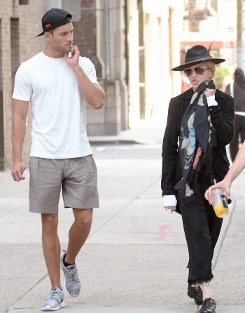 Madonna out and about in New York - 11 July 2015 (6)