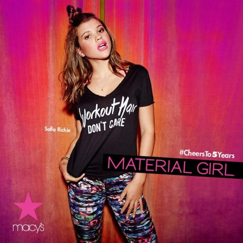 Madonna Material Girl Sophie Richie