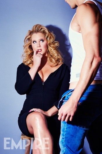 Amy Schumer by David Venni for Empire Magazine - Madonna homage