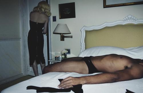 Amy Schumer - Madonna homage - W Magazine 02