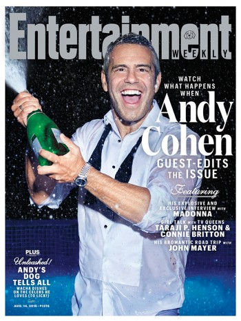 Andy Cohen interviews Madonna - Entertainment Weekly