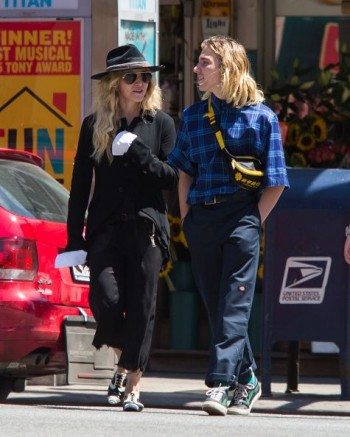 Madonna out and about in New York - 7 August 2015 (6)