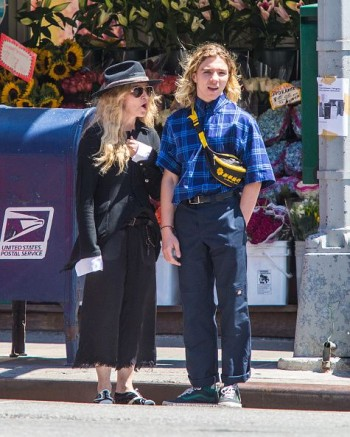 Madonna out and about in New York - 7 August 2015 (7)