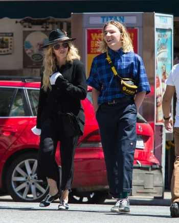 Madonna out and about in New York - 7 August 2015 (8)