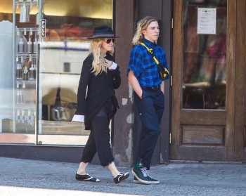 Madonna out and about in New York - 7 August 2015 (9)