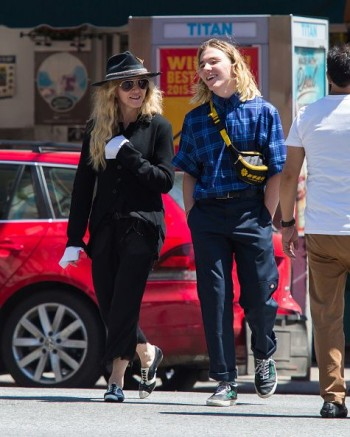 Madonna out and about in New York - 7 August 2015 (10)