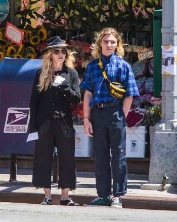 Madonna out and about in New York - 7 August 2015 (12)