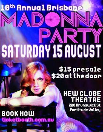 Australia Madonna Party