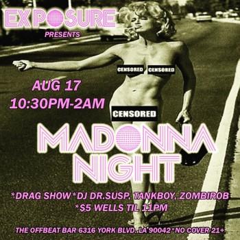 Exposure Madonna Night 01