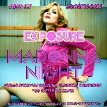 Exposure Madonna Night 02