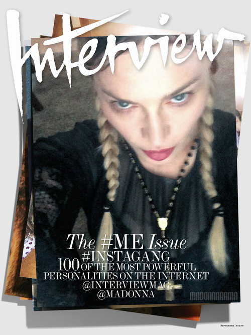 Madonna Interview Magazine September Issue