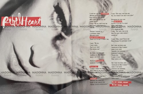 Madonna Rebel Heart Tour Book - HQ Pictures (20)