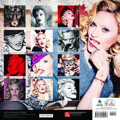 Official 2016 Madonna Calendar 02