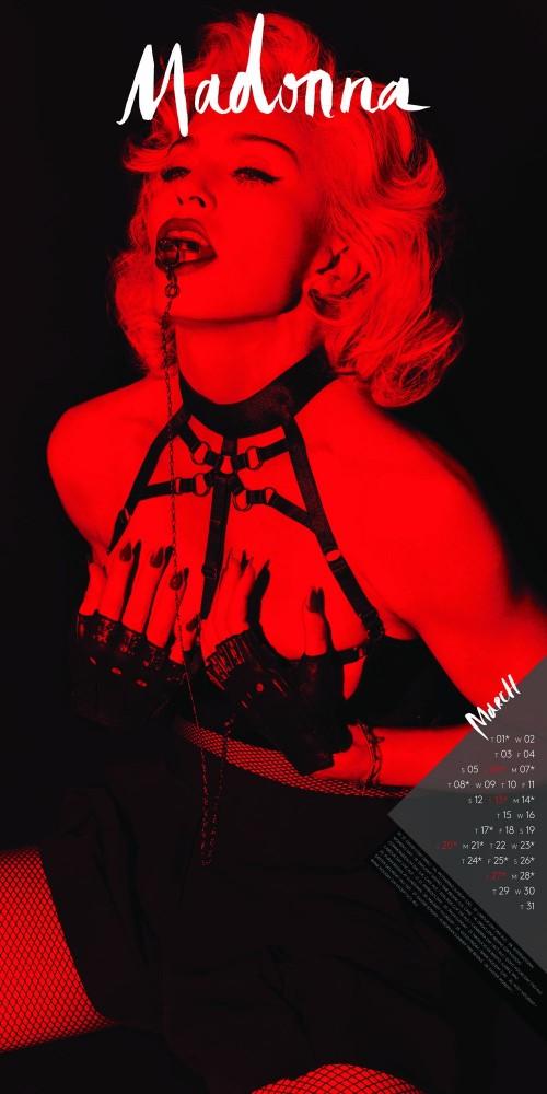 Official 2016 Madonna Calendar 03