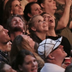 Amy Schumer and Sean Penn attend Vancouver Rebel Heart Concert 02