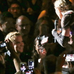 Amy Schumer and Sean Penn attend Vancouver Rebel Heart Concert 03