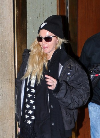 Madonan out and about in Portland - October 2015 02