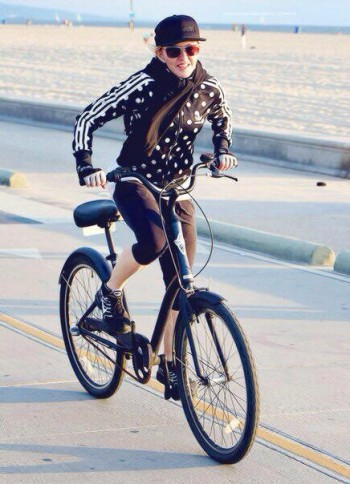 Madonna out and about on Venice Beach