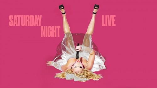 Amy Schumer channels Madonna for SNL Promo shots 02