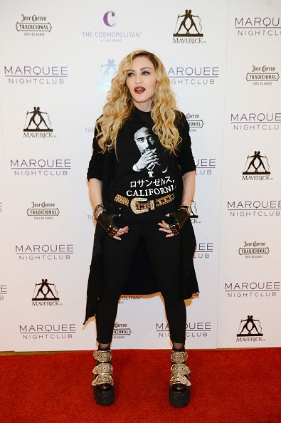 Madonna at the Marquee Nightclub in Las Vegas - 25 October 2015 (2)