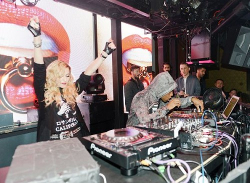 Madonna at the Marquee Nightclub in Las Vegas - 25 October 2015 (4)