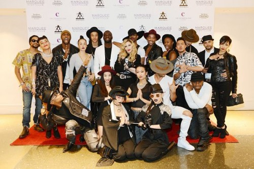 Madonna at the Marquee Nightclub in Las Vegas - 25 October 2015 (5)