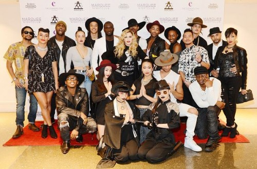 Madonna at the Marquee Nightclub in Las Vegas - 25 October 2015 (6)