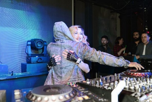 Madonna at the Marquee Nightclub in Las Vegas - 25 October 2015 (10)