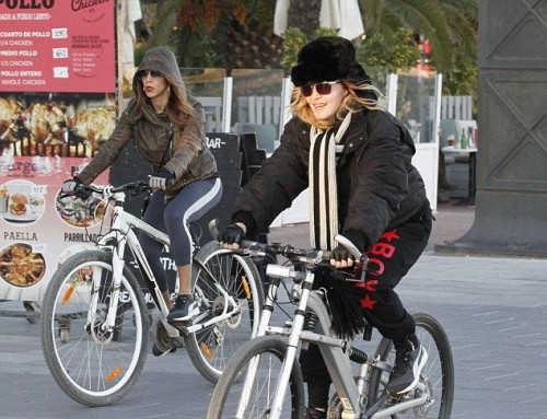 Madonna out and about in Turin and Barcelona - 22-23 November 2015 (3)
