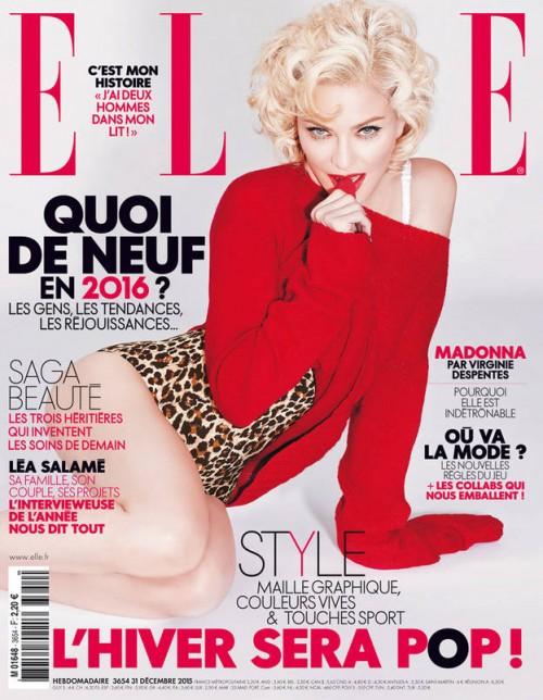 Madonna ELLE France cover