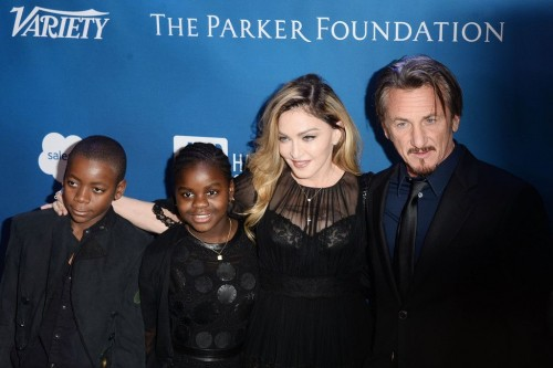 Madonna at the Help Haiti Home Gala, Beverly Hills - 9 January 2016 (1)