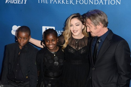 Madonna at the Help Haiti Home Gala, Beverly Hills - 9 January 2016 (4)