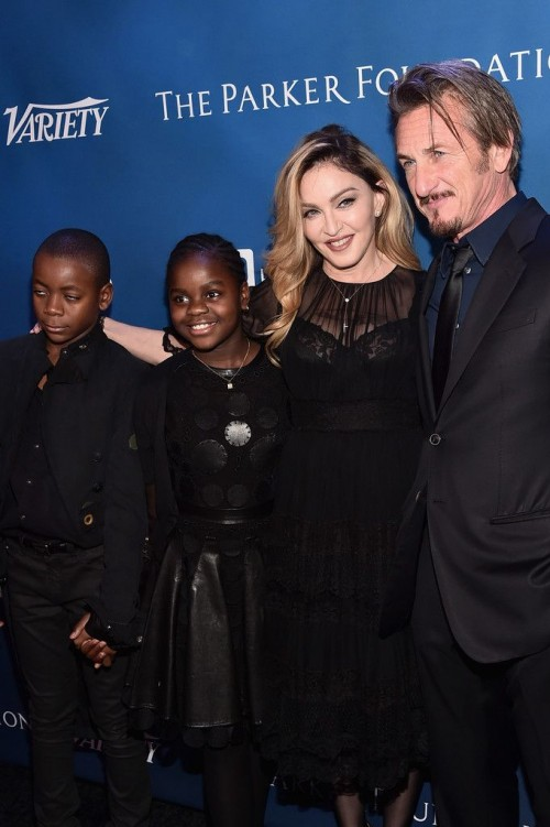 Madonna at the Help Haiti Home Gala, Beverly Hills - 9 January 2016 (8)