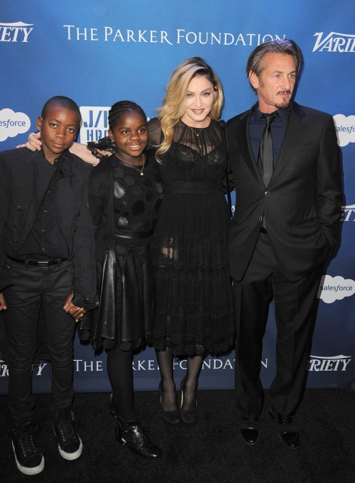 Madonna at the Help Haiti Home Gala, Beverly Hills - 9 January 2016 (9)