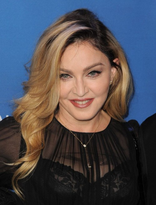 Madonna at the Help Haiti Home Gala, Beverly Hills - 9 January 2016 (10)