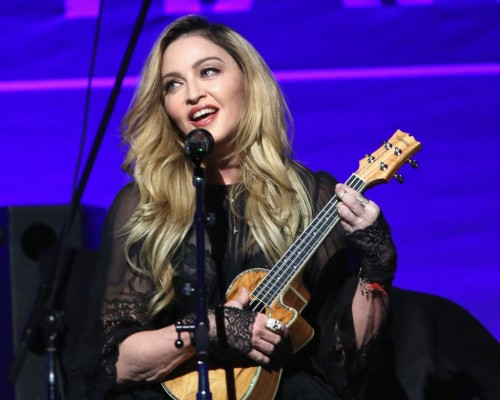 Madonna at the Help Haiti Home Gala, Beverly Hills - 9 January 2016 (13)