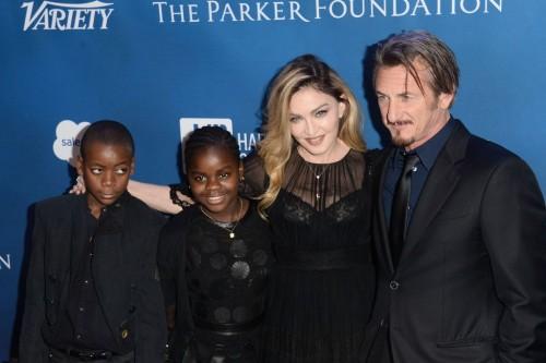 Madonna at the Help Haiti Home Gala, Beverly Hills - 9 January 2016 (15)
