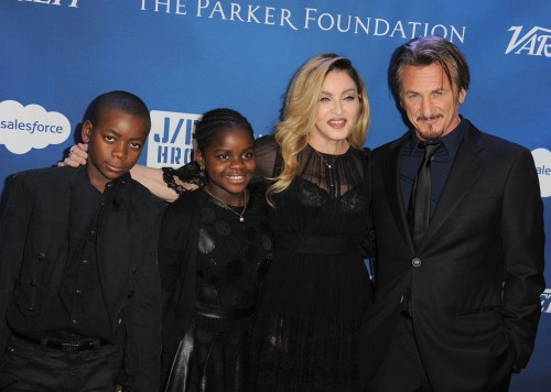 Madonna at the Help Haiti Home Gala, Beverly Hills - 9 January 2016 (21)